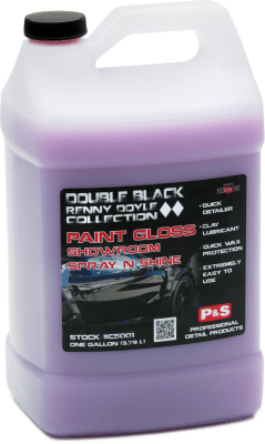P&S Double Black Renny Doyle Collection Paint Treatment 1 Gallon Double Black Renny Doyle Paint Gloss Showroom Spray N Shine