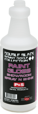 P&S Double Black Renny Doyle Collection Paint Treatment Double Black Renny Doyle Paint Gloss Showroom Spray N Shine