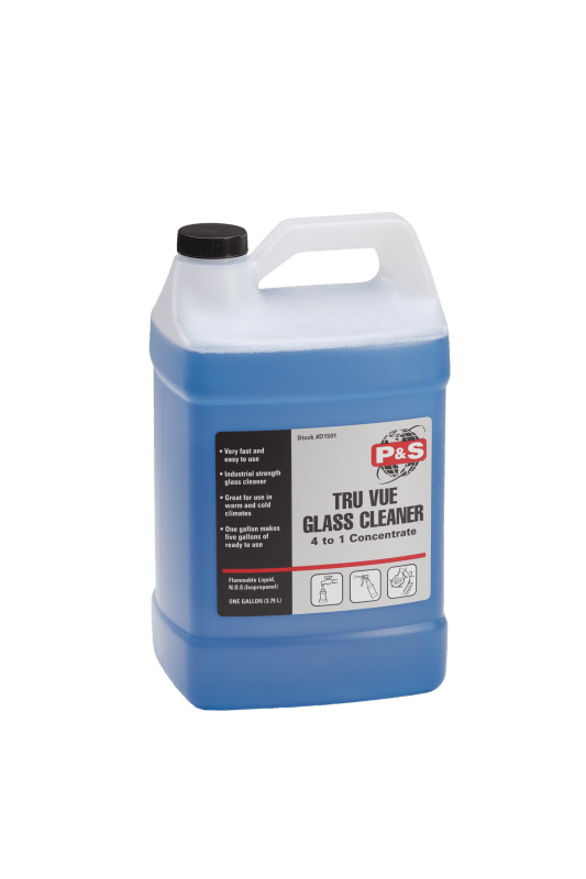 P&S Glass Treatment 1 Gallon P&S Tru Vue Glass Cleaner