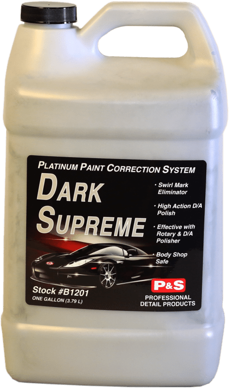 P&S Paint Correction Gallon PLATINUM DARK SUPREME SE Platinum Paint Protection ***