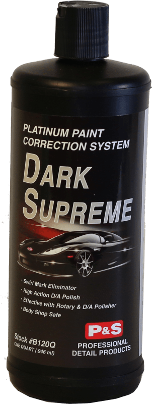 P&S Paint Correction Quart PLATINUM DARK SUPREME SE Platinum Paint Protection ***