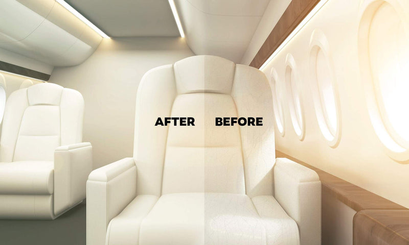 Real Clean Aviation Interior Aviation Care Real Clean Aviation Leather Restore