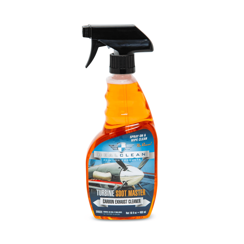 Real Clean Aviation Products 16 oz Real Clean Aviation Turbine Soot Master