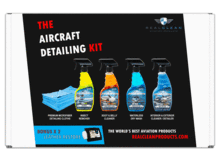 Real Clean Aviation Products Aircraft Wash Real Clean Aviation Complete Aircraft Detailing Kit