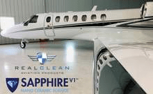 Real Clean Aviation Products Aircraft Wash Real Clean Aviation Sapphire V1 Nano Ceramic Protective Coating