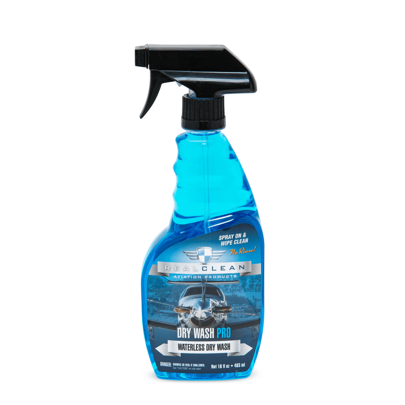 Real Clean Aviation Products Wash 16oz Real Clean Aviation Dry Wash Pro