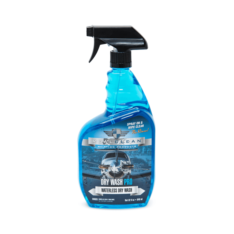 Real Clean Aviation Products Wash 32 oz Real Clean Aviation Dry Wash Pro