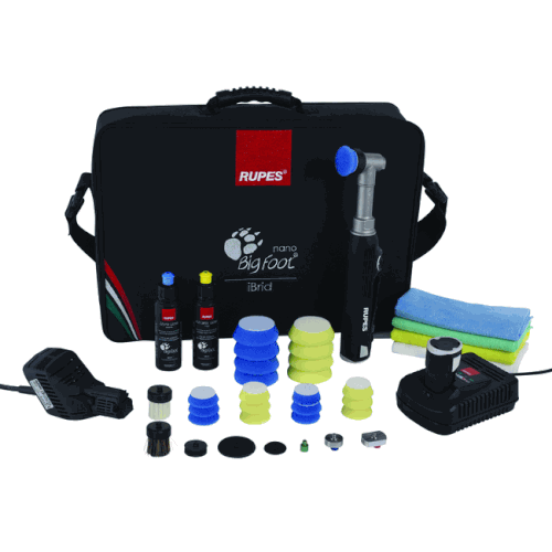 Rupes Equipment Rupes Bigfoot Nano iBrid Technology Deluxe Kit