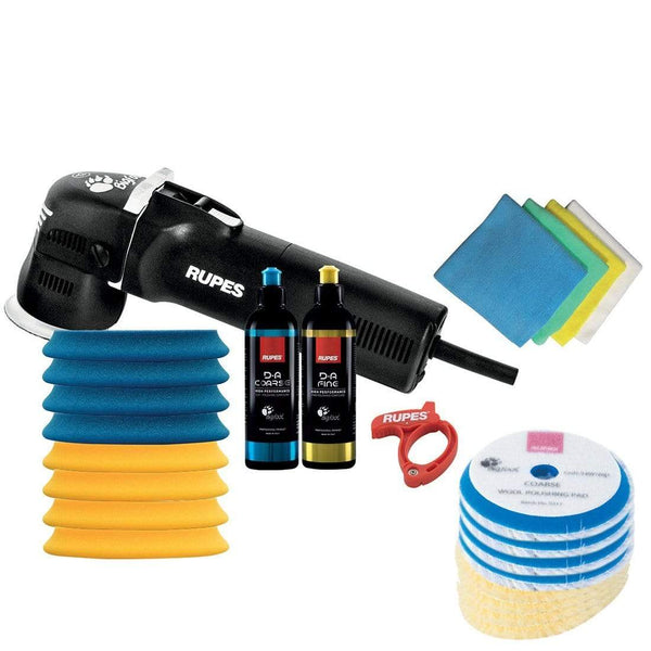 "Rupes Equipment RUPES LHR75E 3"" MINI RANDOM ORBITAL DA POLISHER DELUXE KIT ***"
