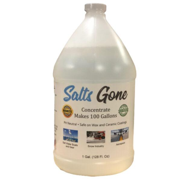 Salt Gone All Purpose Cleaner Gallon Salts Gone Acid-Free Chloride Eliminator Concentrate ***