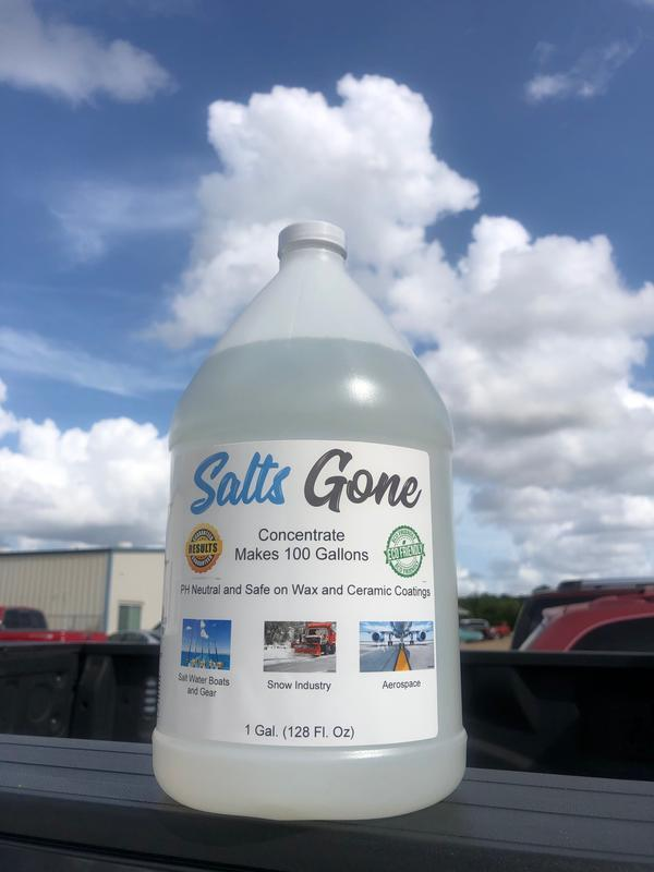 Salt Gone All Purpose Cleaner Salts Gone Acid-Free Chloride Eliminator Concentrate ***
