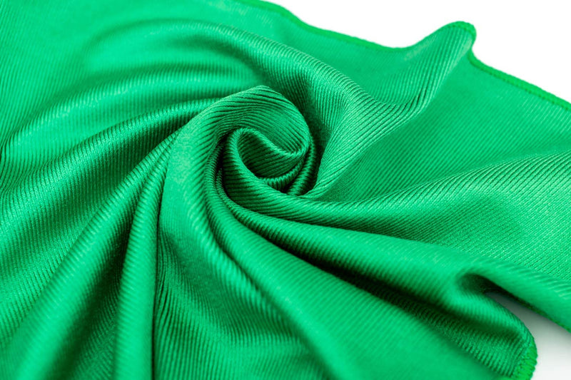 The Rag Company glass towel THE RAG COMPANY STANDARD GREEN GLASS AND WINDOW TOWELS ***