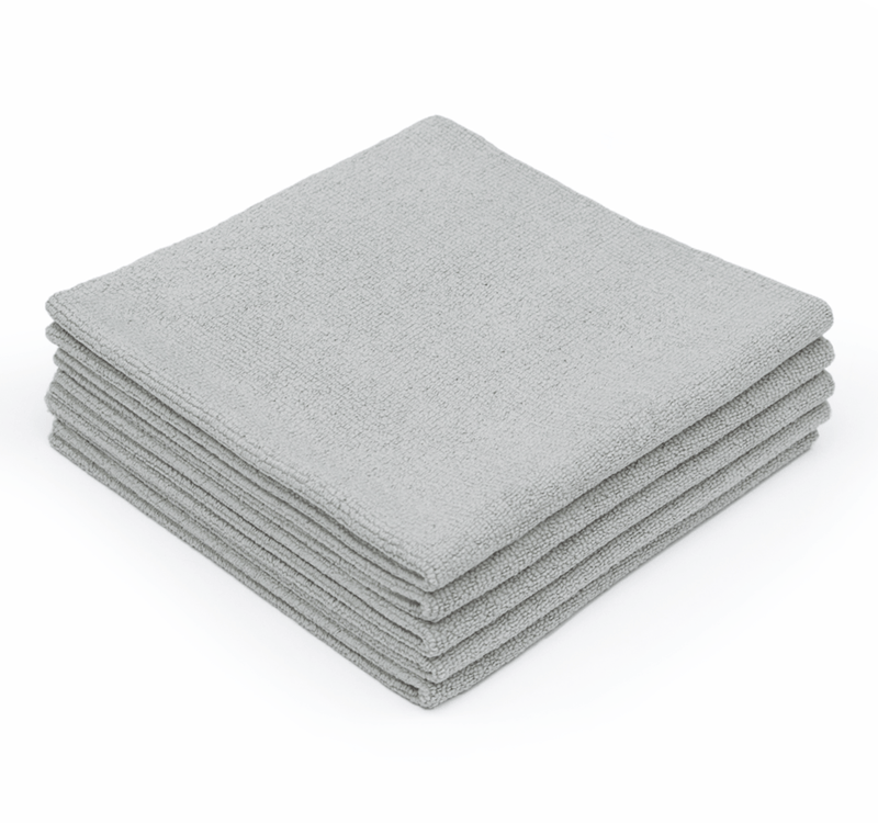 The Rag Company Towel 16 x 16 / Grey / Single The Rag Company EDGELESS PEARL 16 X 16 MICROFIBER CERAMIC COATING TOWEL - ICE GRE