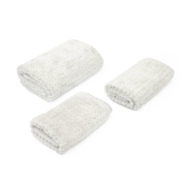 The Rag Company Towel 16 x 16 / Single / White The Rag Company PLATINUM PLUFFLE HYBRID WEAVE MICROFIBER DRYING TOWELS