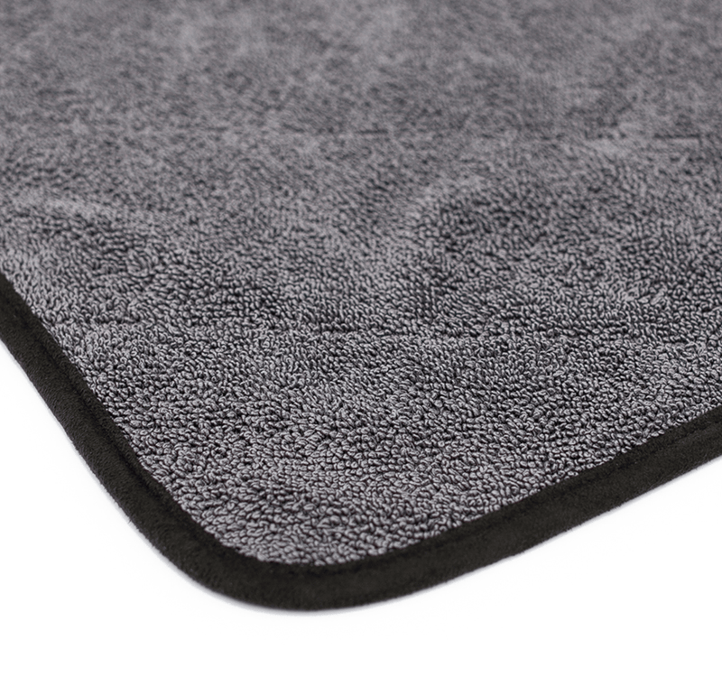 The Rag Company Towel 20 x 24 / Single / Black The Rag Company THE DOUBLE TWISTRESS 20 X 24 PREMIUM KOREAN TWIST LOOP TOWEL
