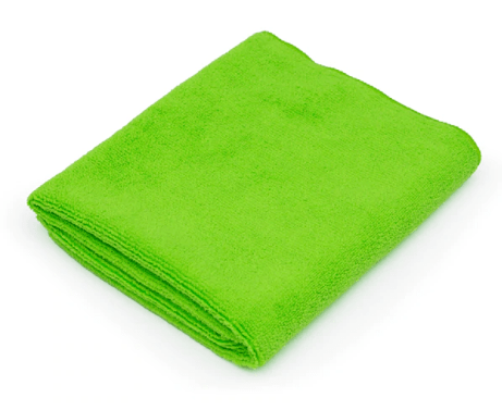 The Rag Company Towel Lime Green ALL PURPOSE 16 X 27 CAR WASH MICROFIBER TERRY TOWEL