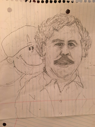 Original Los Dos Pablo Drawing