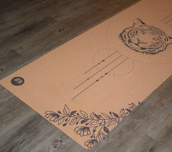 Cork-yoga-mat-tiger-design