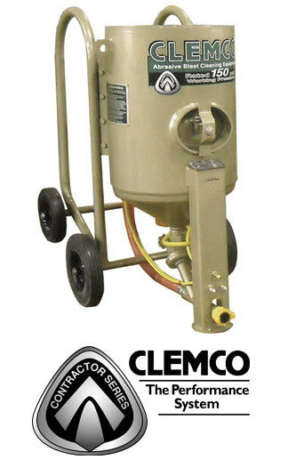 Clemco 4 cu/ft Contractor Blast Machine Packages