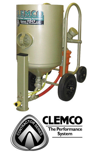 Clemco 6 cu/ft Contractor Blast Machine Packages