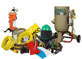 0.5 cu/ft & 1 cu/ft Clemco Blast Machine Package