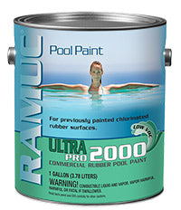 Ramuc Ultra Pro 2000 Commercial Rubber Pool Paint