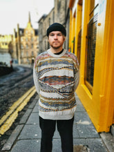 Load image into Gallery viewer, Cream Coogi Style Vintage Sweater
