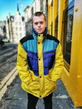 Load image into Gallery viewer, Yellow Colour Block Gortex Jacket