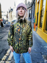 Load image into Gallery viewer, Green Leopard Print Light Jacket
