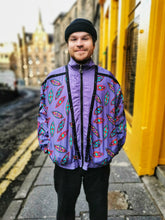 Load image into Gallery viewer, Purple Patterned Shell Jacket