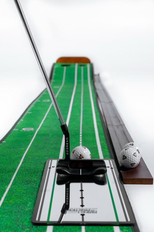 Perfect Putting Standard Mat & Mirror Bundle