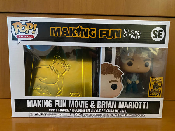 MAKING FUN MOVIE & BRIAN MARIOTTI 5000 PCS FUNKO POP! VINYL