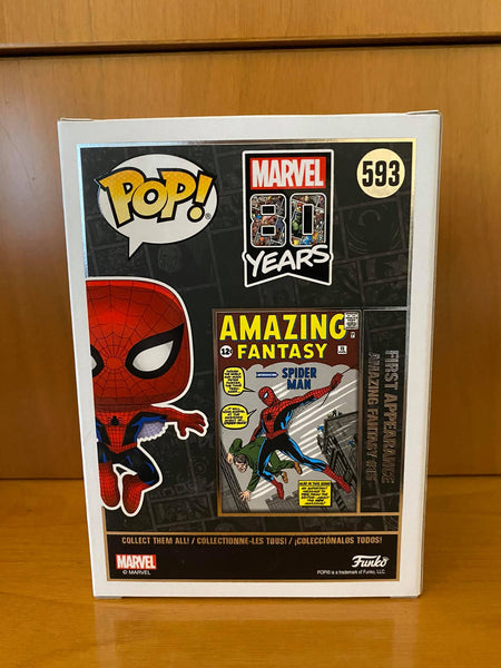 MARVEL 80 YEARS - SPIDER-MAN #593 (HOT TOPIC EXCLUSIVE) - FUNKO POP! VINYL - HDTOYS Shop