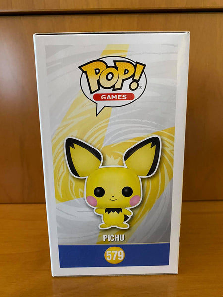 POKÉMON - FLOCKED PICHU #579 (2020 WONDERCON EXCLUSIVE) FUNKO POP! VINYL - HDTOYS Shop