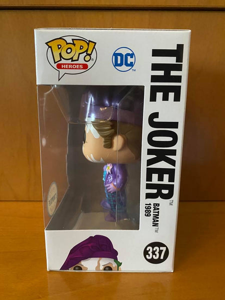 BATMAN - THE JOKER 1989 #337 (CHASE) FUNKO POP! VINYL - HDTOYS Shop