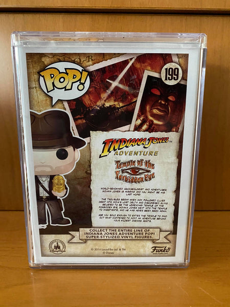 INDIANA JONES ADVENTURE - INDIANA JONES #199 (2016 SDCC) FUNKO POP! VINYL - HDTOYS Shop