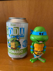 FUNKO SODA - TEENAGE MUTANT NINJA TURTLES - LEONARDO (12,500 PZ) - HDTOYS Shop
