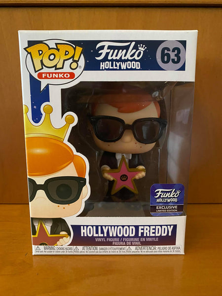 FREDDY FUNKO - HOLLYWOOD FREDDY #63 (FUNKO HOLLYWOOD EXCLUSIVE) FUNKO POP! VINYL - HDTOYS Shop