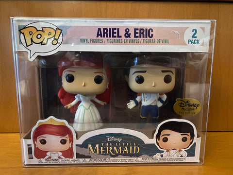DISNEY - ARIEL & ERIC #2 PACK (DISNEY TREASURE EXCLUSIVE) FUNKO POP! VINYL - HDTOYS Shop