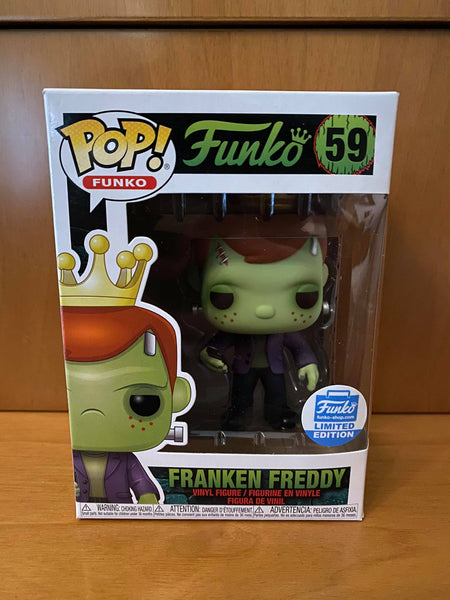 FREDDY FUNKO - FRANKEN FREDDY #59 (FUNKO SHOP EXCLUSIVE) FUNKO POP! VINYL - HDTOYS Shop