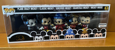 DISNEY - MICKEY MOUSE #5PACK 50th (AMAZON EXCLUSIVE) FUNKO POP! VINYL - HDTOYS Shop