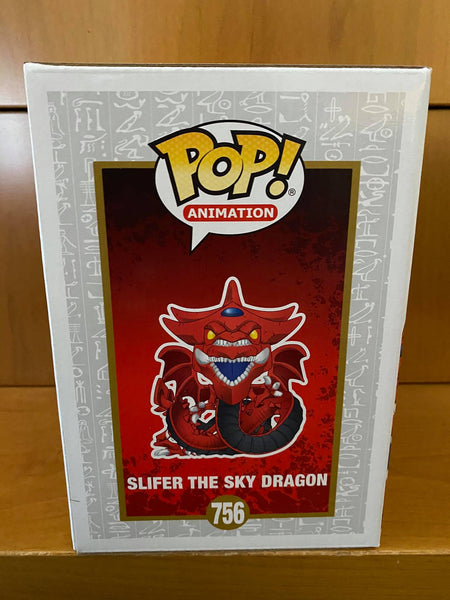YU-GI-OH! - SLIFER THE SKY DRAGON #756 (TARGET EXCLUSIVE) FUNKO POP! VINYL - HDTOYS Shop