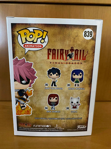 FAIRY TAIL - ETHERIOUS NATSU DRAGNEEL E.N.D. (AAA ANIME EXCLUSIVE) MINT FUNKO POP! VINYL - HDTOYS Shop