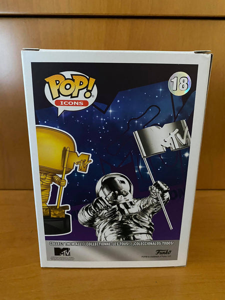 ICONS - MTV MOON PERSON #18 (HOLLYWOOD EXCLUSIVE) FUNKO POP! VINYL - HDTOYS Shop