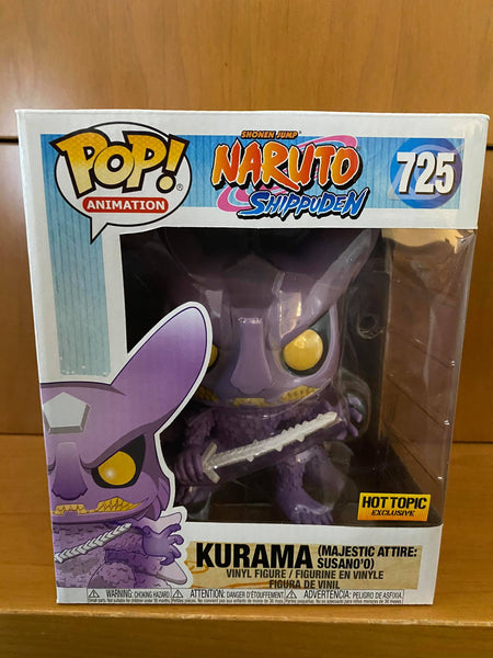 NARUTO SHIPPUDEN - KURAMA #725 (HOT TOPIC) FUNKO POP! VINYL - HDTOYS Shop