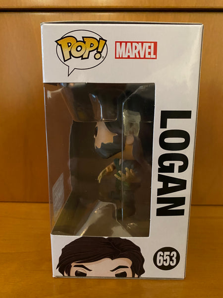 MARVEL  - COLLECTOR CORPS - LOGAN - #653 (COLLECTOR CORPS) FUNKO POP!  VINYL