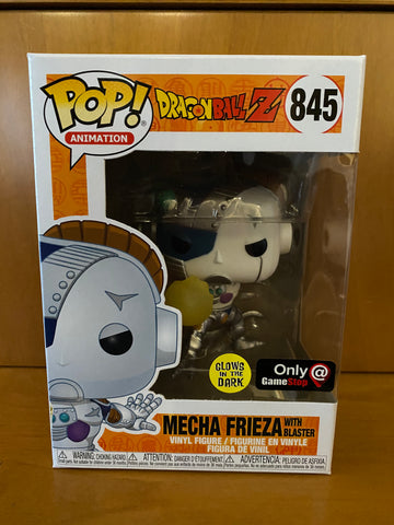 DRAGON BALL Z - MECHA FRIEZA WITH BLASTER GLOW #845 (ONLY AT GAMESTOP) FUNKO POP! VINYL