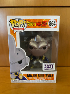 DRAGON BALL Z  - MAJIN BUU EVIL #864 METALLIC (FUNIMATION 2021) FUNKO POP! VINYL