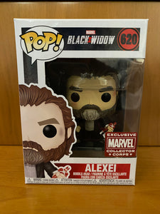 MARVEL  - COLLECTOR CORPS - ALEXEI - #620 (COLLECTOR CORPS) FUNKO POP!  VINYL