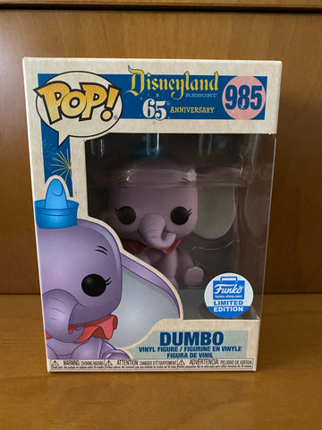 DISNEY - DISNEYLAND 65TH - DUMBO  - #985 (FUNKO SHOP) FUNKO POP!  VINYL - HDTOYS Shop
